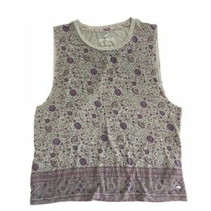 American Eagle Soft & Sexy Floral Sleeveless Boho